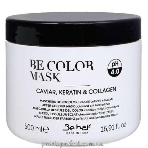 Be Color After Colour Mask With Caviar, Keratin & Collagen - Маска після фарбування з кератином і колагеном