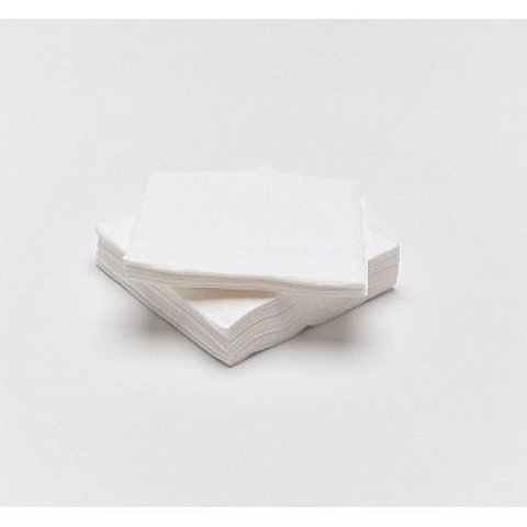 Салфетка спанлейс белый 15х15 см 100 шт/упк