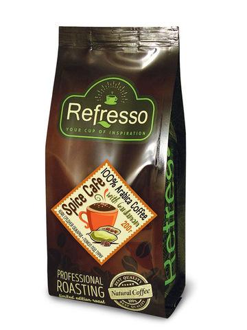 "Кофе молотый с Кардамоном ""Спайс Кафе"", 200 г, Refresso"