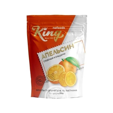 Апельсин сушенный кольцами 100гр King Вьетнам