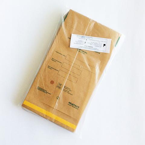 Крафт - пакеты бумажные с индикатором 115*200