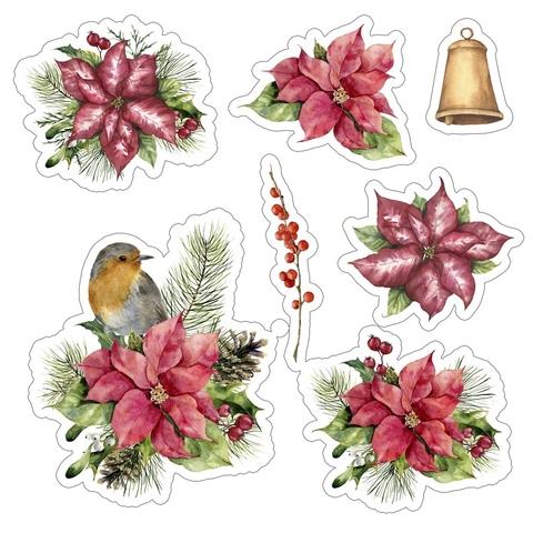 Печать на сахарной бумаге, Набор цветы 7
