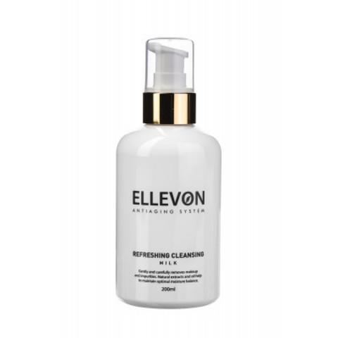 ELLEVON Освежающее очищающее молочко | REFRESHING CLEANSING MILK ELLEVON
