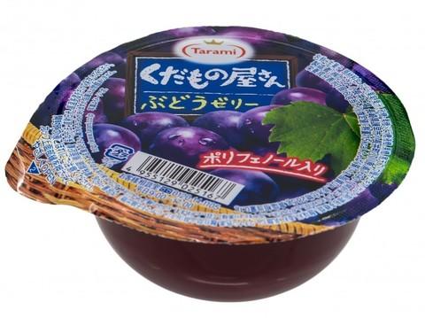 Желе фруктовое Tarami с кусочками фруктов Виноград 160 гр.