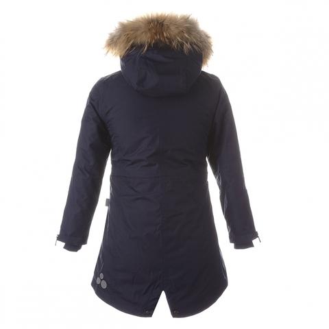 HUPPA зимняя куртка - парка Vivian 1 с натуральным мехом для девочки подростка
