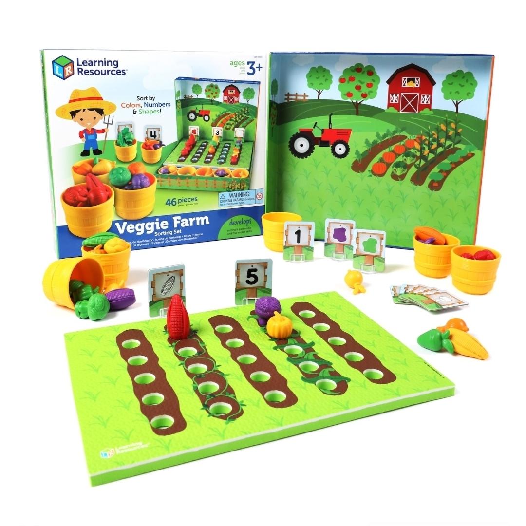 Огород. Выращиваем овощи.(46 элементов)