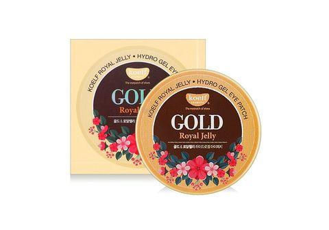 Koelf Патчи для глаз с золотом и маточным молочком Gold Royal Jelly Hydrogel Eye Patch 60 шт.
