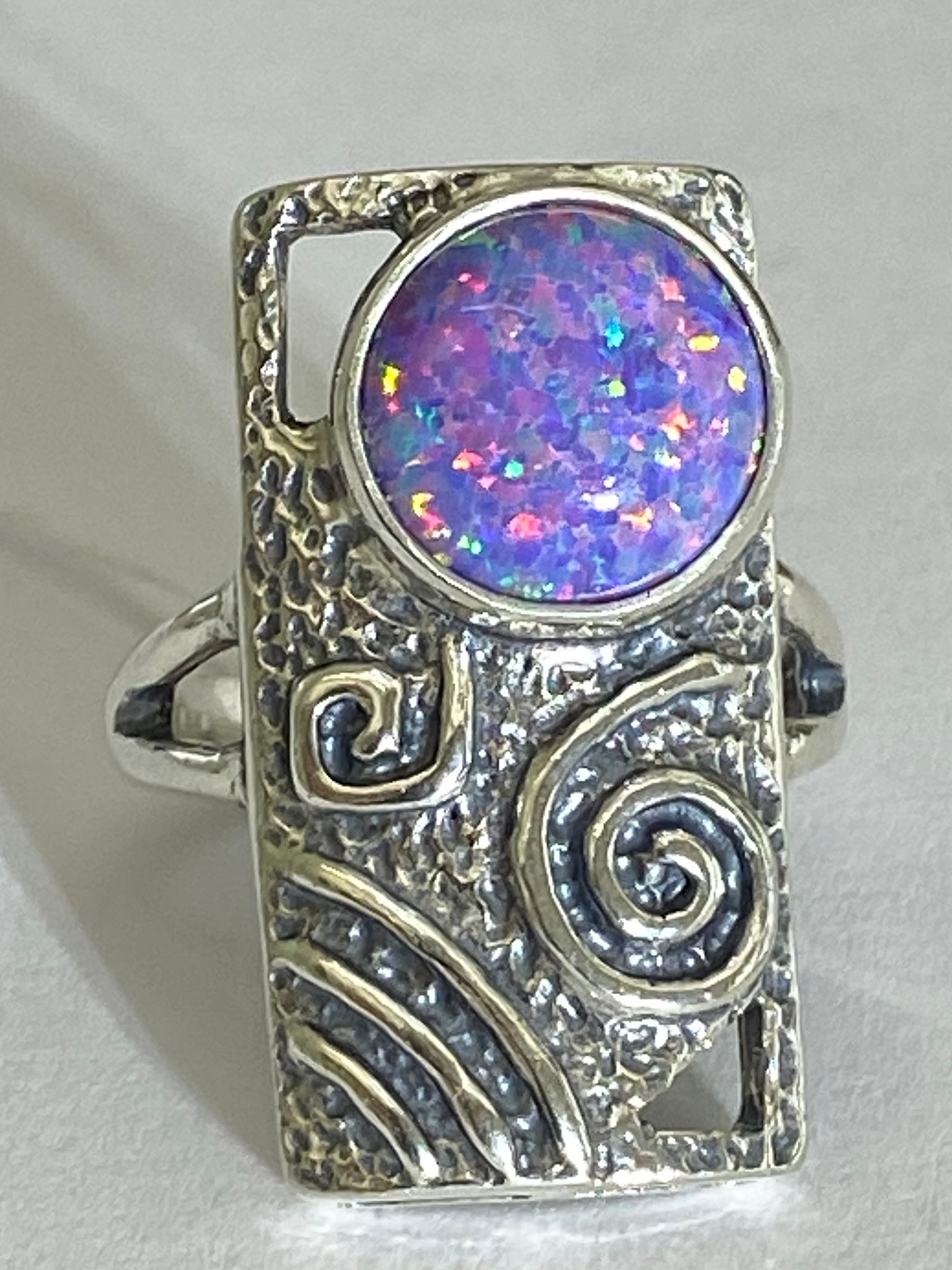 Маори (кольцо из серебра)