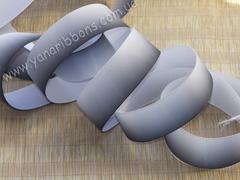 Лента репсовая Градиент черно-белый ширина 25 мм