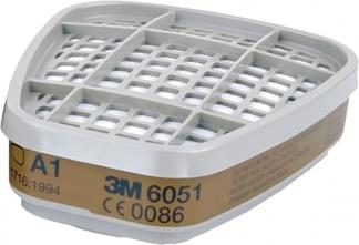 Средства индивидуальной защиты Угольный фильтр для маски 3М 6051 3M.jpeg