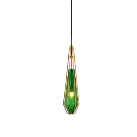 Подвесной светильник копия Harlow 4 by Gabriel Scott (зеленый)