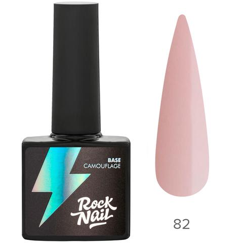 База камуфлирующая RockNail 82 Pink Chiff 10мл