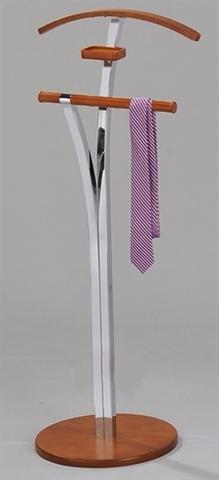 Вешалка для одежды напольная костюмная СН 4421-C вишня