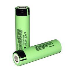 Аккумуляторы 18650 Panasonic 3400mAh NCR18650B (Li-ion)