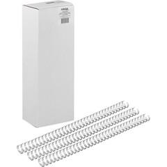 Пружины для переплета металлические Promega office 11.1 мм серебристые (100 штук в упаковке)