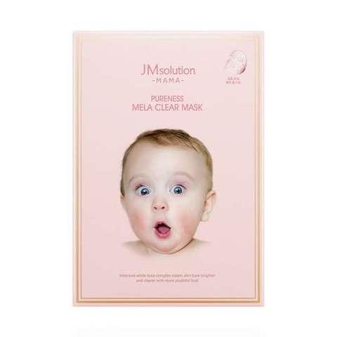 JM Solution Mama Pureness Mela Clear Mask тканевая маска для сухой и чувствительной кожи