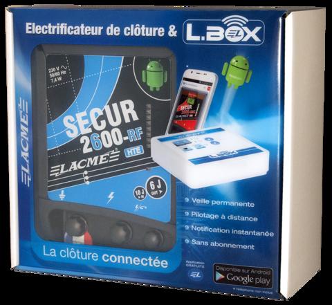 Генератор электропастуха SECUR 2600-RF HTE - 350 км - 10-6,0 Дж - интернет контроль и управление
