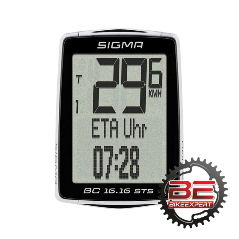 Велокомпьютер Sigma Sport BC-16.16 STS CAD беспроводной
