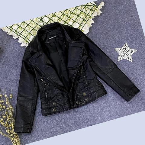 Куртка экокожа девочке (5-9) 210205-J7133