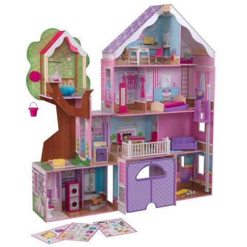 KidKraft Дом на дереве - кукольный домик с мебелью 10108_KE