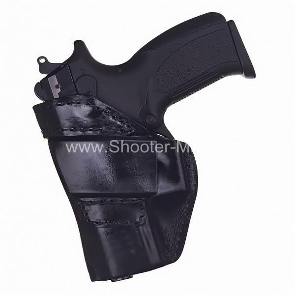 Кобура кожаная для пистолета Grand Power Т 10 и Т 12 поясная ( модель № 7 ) Стич Профи