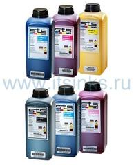 Комплект эко-сольвентных чернил STS Eco-Max2 6x1000 мл