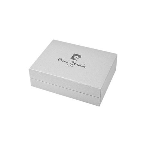 Зажигалка Pierre Cardin кремниевая газовая, цвет темная бронза с позолотой, матовая, 2,4х1х7,4см