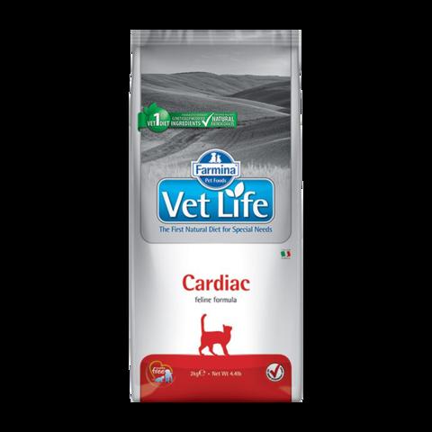 Farmina Vet Life Cat Cardiac Лечебный сухой корм для кошек при хронической сердечной недостаточности