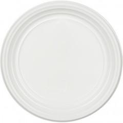 Тарелка одноразовая  d 205мм, белая, ПП 100шт/уп