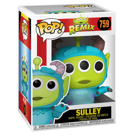 Funko Pop! || Pixar Remix! Пришелец в костюме Салливана