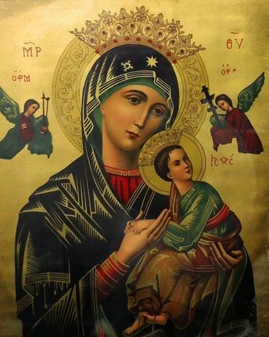 Алмазная Мозаика 28x22 Страстная Икона Божией Матери  (арт. MN20902)