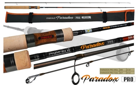 Спиннинг Metsui Paradox Pro 722L 3-12 г.