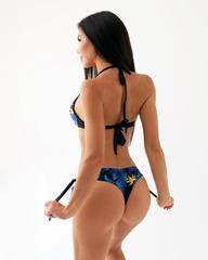 Плавки Nebbia Earth Powered brasil bikini - bottom 557 TR.Blue