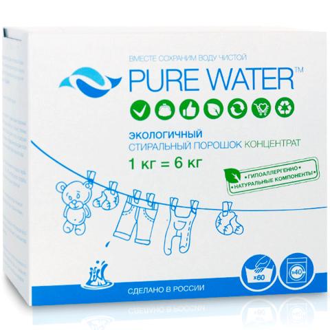 Стиральный порошок Pure Water 1 кг