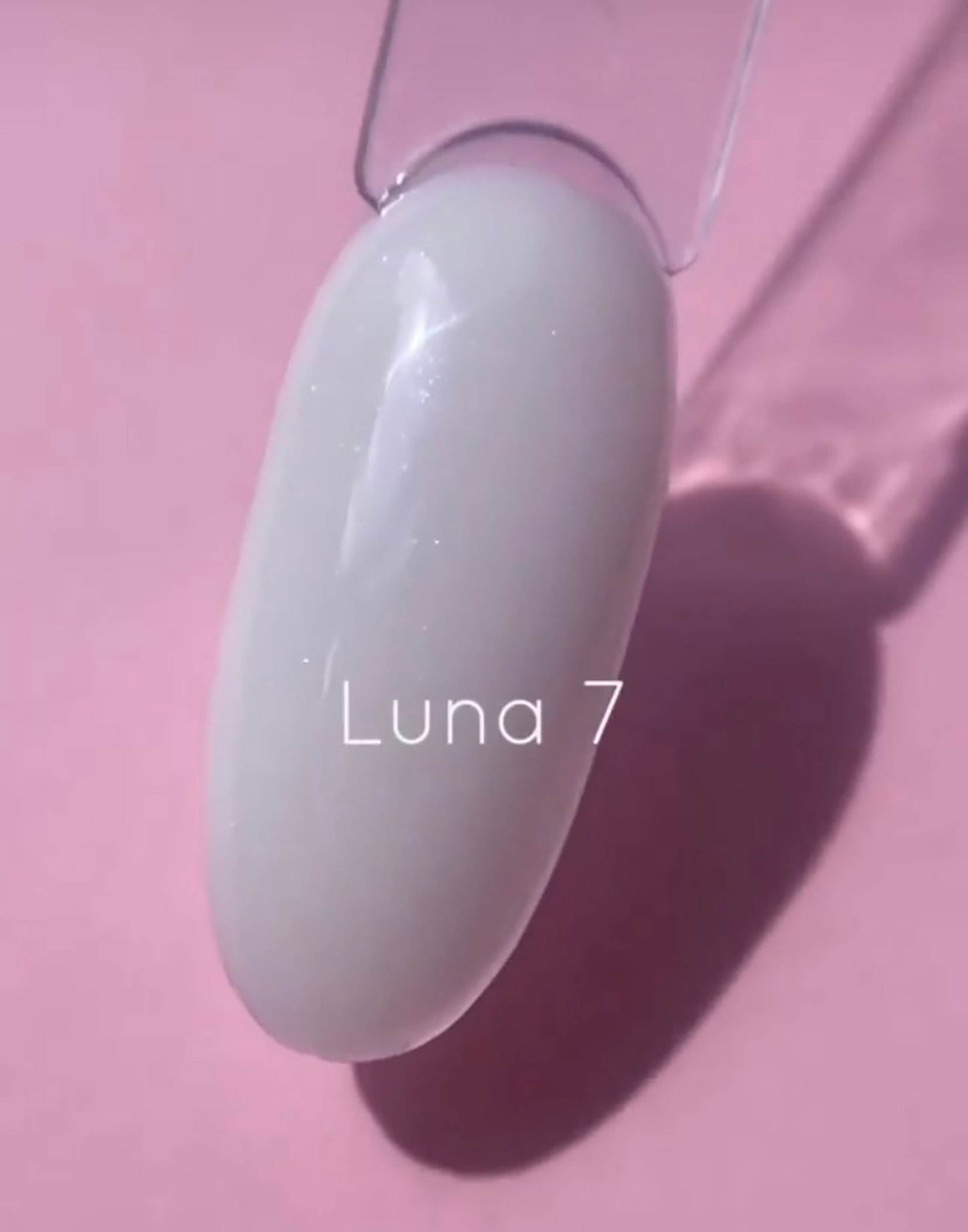 LUNA Cover Base 7 без кисточки 30ml, молочная с шиммером