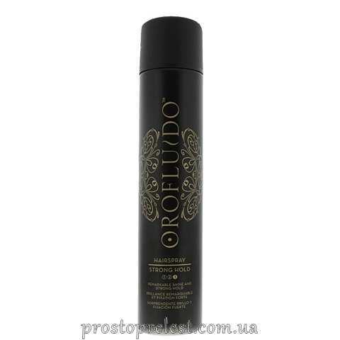 Orofluido Strong Hold Hair Spray - Лак для волос сильной фиксации