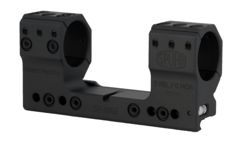Тактический кронштейн SPUHR D30мм на Picatinny, H38мм, без наклона (SP-3002)