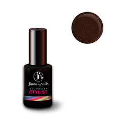 Fantasy Nails Stylist, Гель-лак № 032 Dark Chocolate, 8 мл