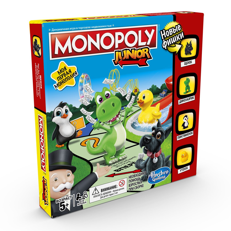 Монополия Hasbro Games для малышей A6984RA0
