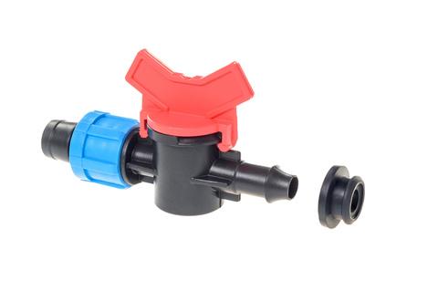 Кран стартовый для ленты капельного полива с уплотнительной резинкой,MP-У