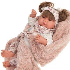Munecas Antonio Juan Кукла Сильвия в розовом, 40 см (3310)