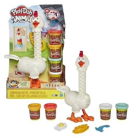 Курочка-чудо в перьях Play-Doh 66475