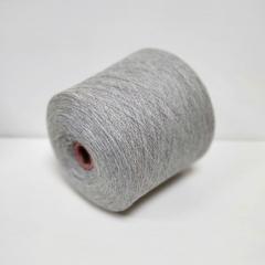 Lambswool, Шерсть ягненка 100%, Светло-серый меланж, 1/16, 1600 м в 100 г