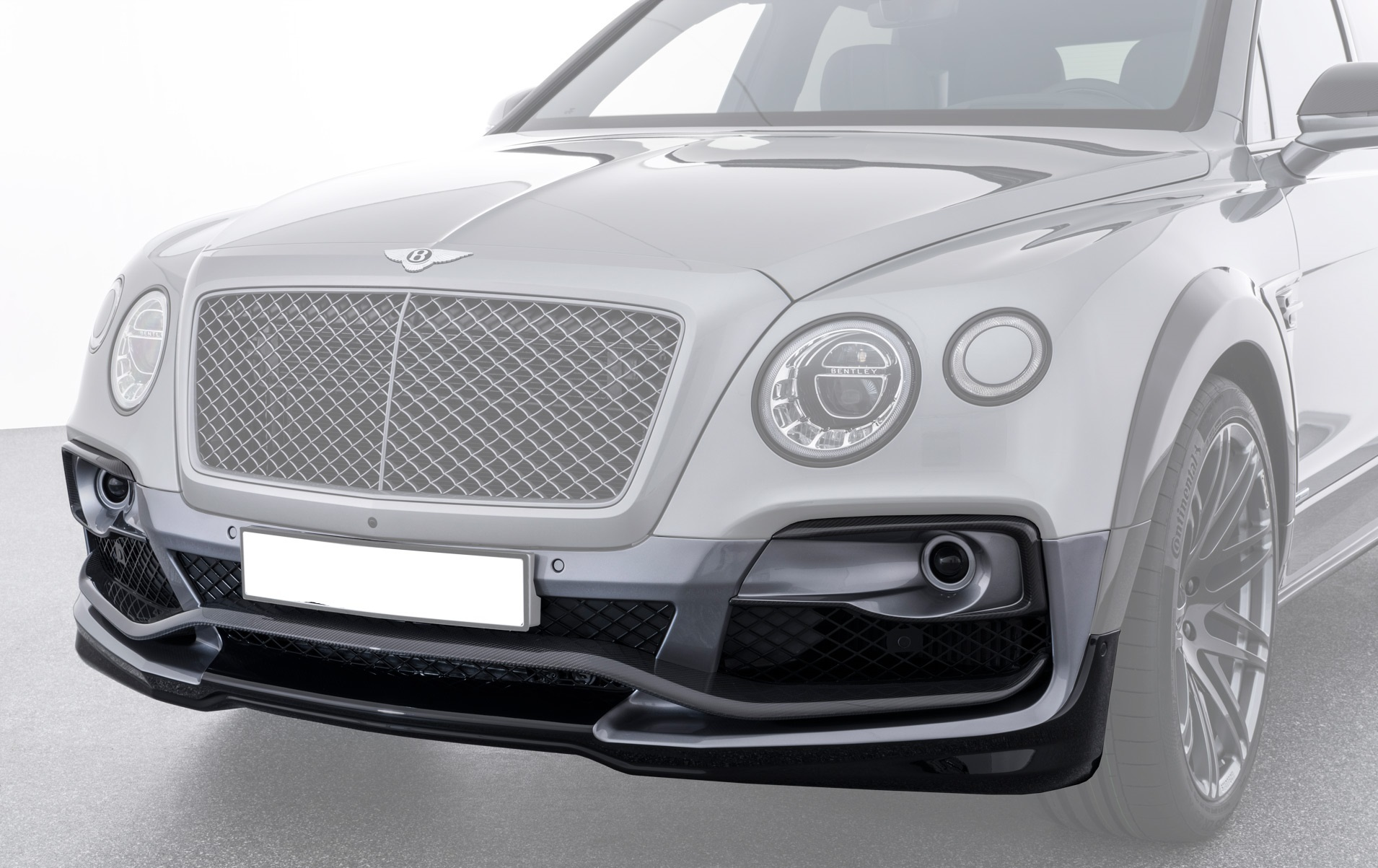 Карбоновый передний бампер Startech Style для Bentley Bentayga