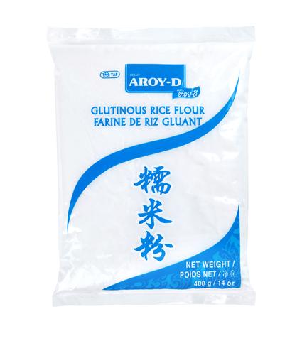 Мука рисовая клейкая Aroy-D, 400г