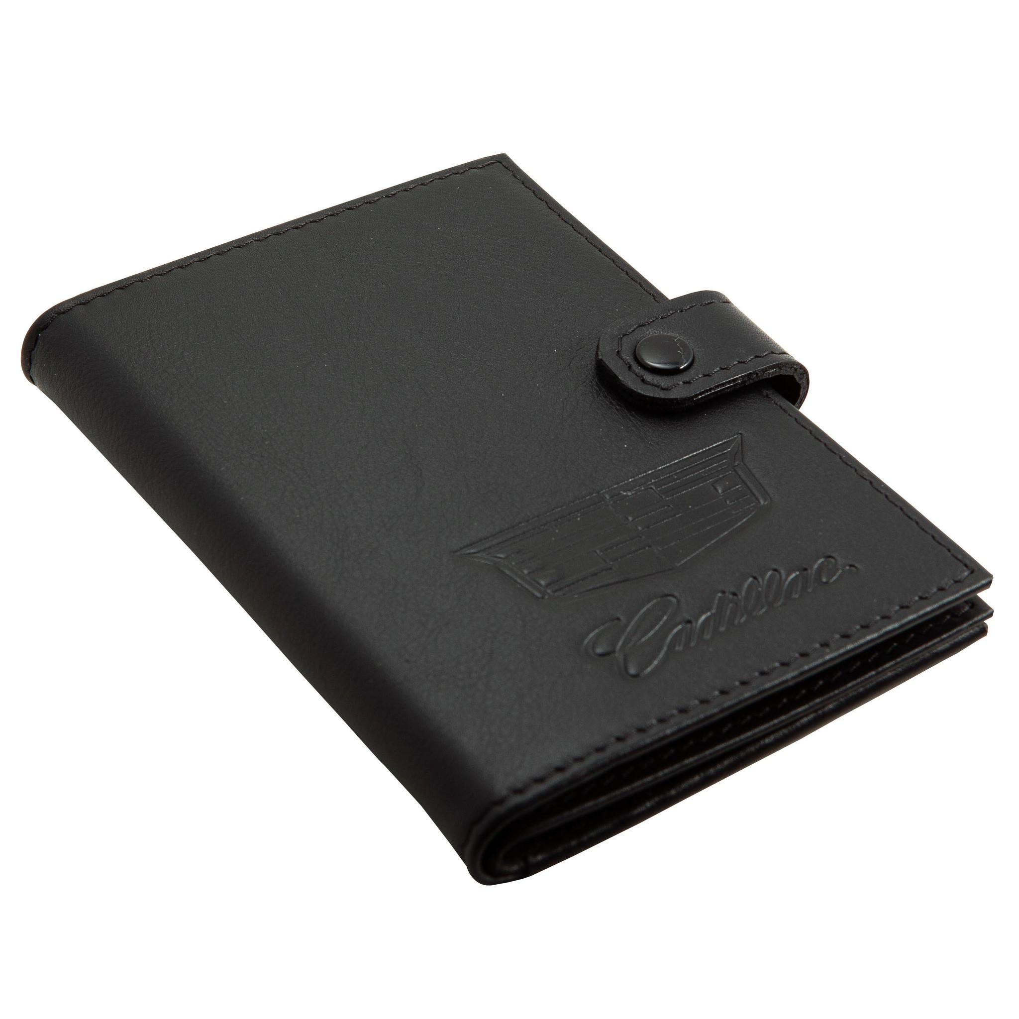 Портмоне для автодокументов и паспорта Cadillac