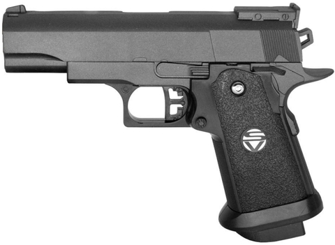 Cтрайкбольный пистолет Galaxy G.10 COLT1911PD mini металлический, пружинный