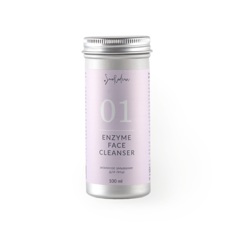Энзимная пудра для умывания 01 Enzyme Face Cleancer SMORODINA