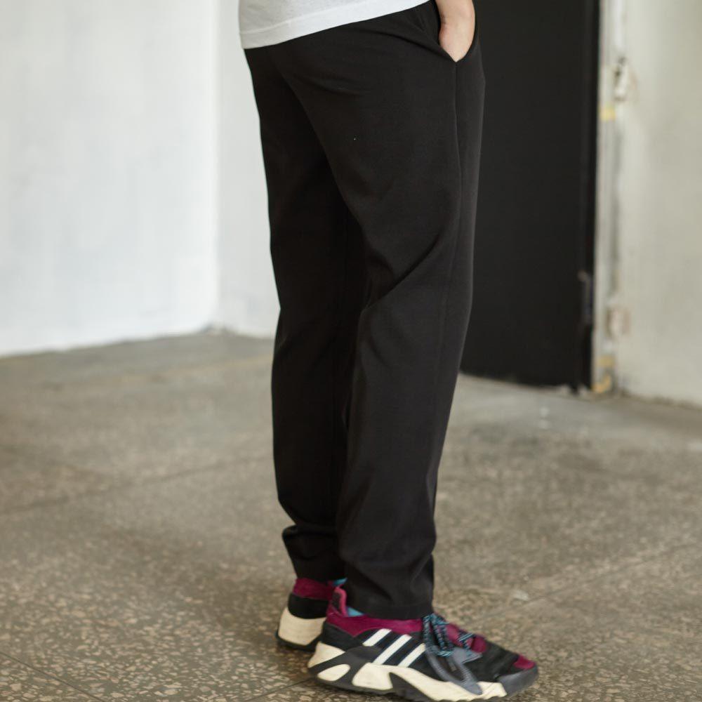 Подростковые брюки для мальчика в черном цвете