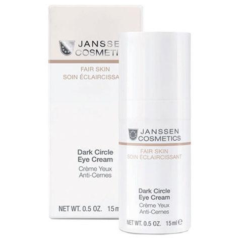Janssen Fair Skin: Универсальный Увлажняющий крем для глаз от темных кругов, отеков и морщин (Dark Circle Eye Cream)